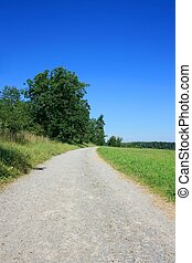 Country Road - this image shows a stony country road