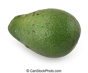 avocado fruit against white background, gentle natural...