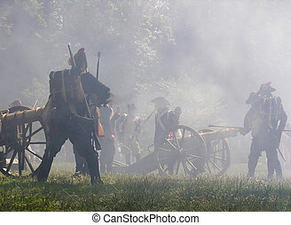 Napoleon war in the fog