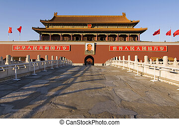 The Gate of Heavenly Peace on Tiananmen Square