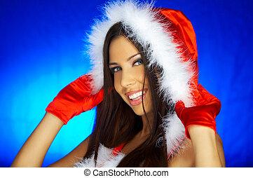 Santas, mujer