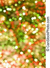 De-focused Festive background - De-focused shimmering dots...