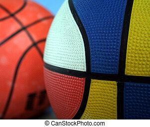 Basketball - Colorful basketball