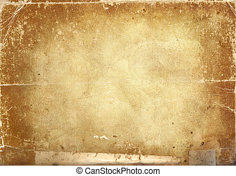 Grunge background - Abstract background made with old...