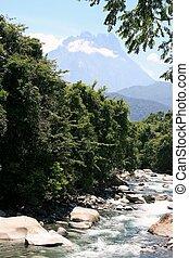 Mt Kinabalu - A view to Mt Kinabalu in Malaysia