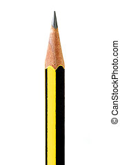 Pencil - A pencil isolated on white background