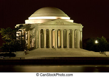 Thomas Jefferson Memorial - The Thomas Jefferson Memorial is...