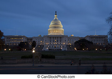 州, 合併した, ワシントン, 国会議事堂, DC