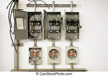 Electrical Meter Center - Industrial electrical meter center...
