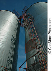 Grain Elevators on the Prairies