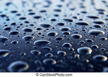 Water drops background - Abstract background of water drops...