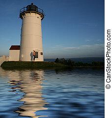 Nobska Lighthouse Flood
