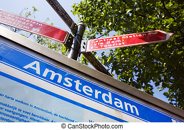 find your way in amsterdam