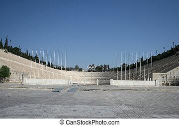 landmarks stadium athens - kalimarmaro stadium in athens...