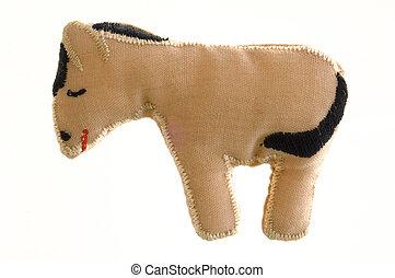 Christmas crib donkey