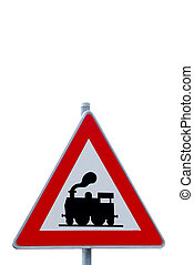 traffic sign attention train - a traffic sign with attention...