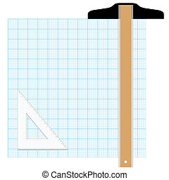 Graph Paper Drafting Tools Draw - Draw your graphic plan on...