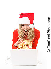 Buy your Christmas presents online - Save time and m money...