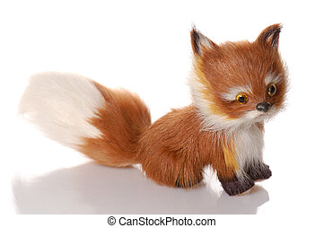 toy fox isolated