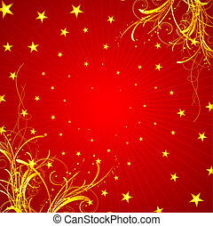 starry background - Decorative starry background