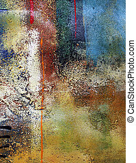 Abstract background - Abstract multi-coloured background...