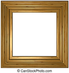 Picture Frame - Old wooden Picture Frame