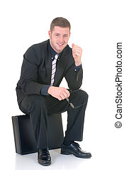 Successful businessman - Handsome successful young...