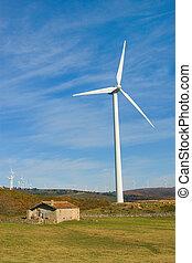 Wind Turbine - Wind turbine in Puerto del Escudo, Cantabria