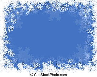 snow - composition of a  snow  background illustration