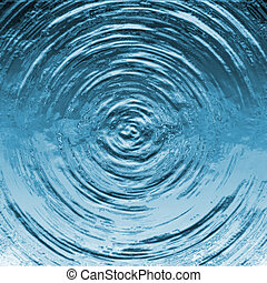 Water Ripple - A ripple formed on a water surface.