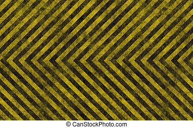 hazard background - grungy yellow striped hazard background...