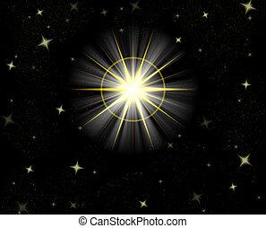 shining star - great big star flare or shining christmas...