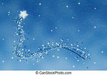 wishing star - wish upon a shooting star at christmas or...