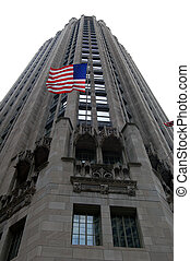 American skyscrapper - Picture of a very traditional...