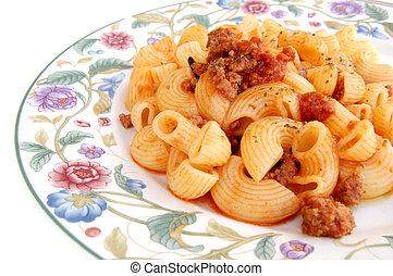 Pasta - Italian pasta with sauce