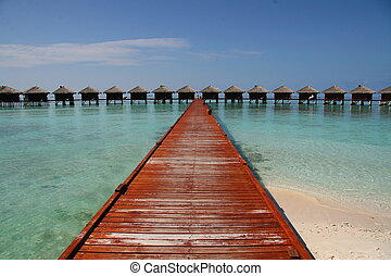 Water villas in Maldives, Filitheyo resort