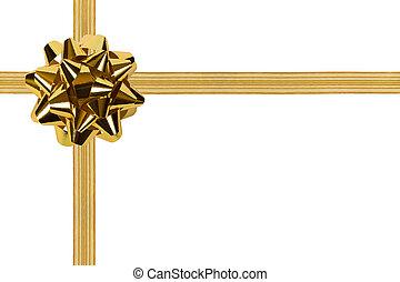 oro, arco, cinta
