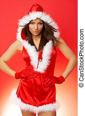 Christmas Woman