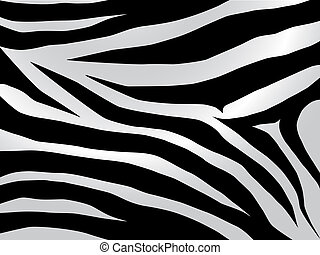 zebra design - Black and white stripped zebra design