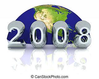 New Year 2008 Global