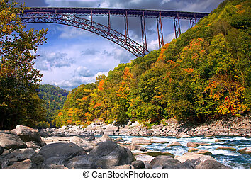 High Bridge - Bridger over New River in West Virginia