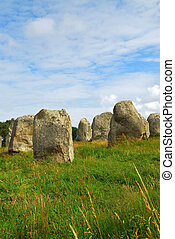Megalithic monuments in Brittany - Prehistoric megalithic...