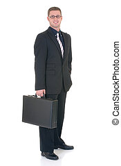 Successful businessman - Handsome young successful...