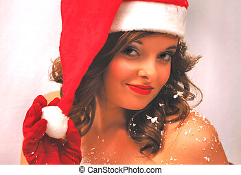 Merry Christmas - Sexy Santa Lady