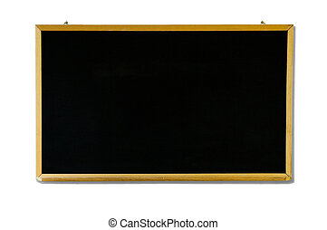 Black Chalk board with woden Frame