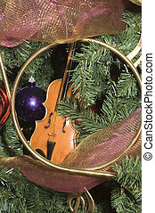 Christmas tree ornaments - variety of Christmas tree...