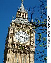 Big Ben, London - Big Ben - Clock tower of the Houses of...