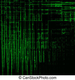High-res matrix background - High resolution modern abstract...