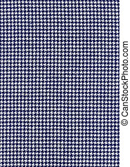 Houndstooth fabric pattern background