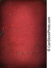 Old red leather book texture scanned in high resolution for...